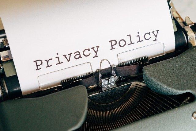 プライバシーポリシーがない